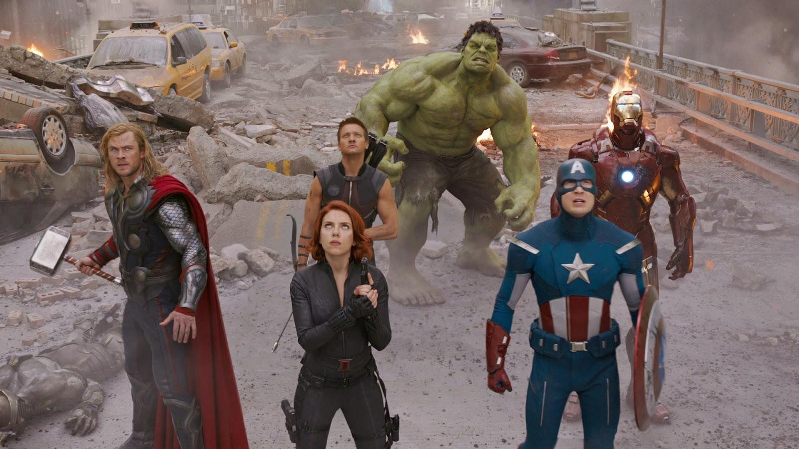 the avengers marvel cinematic universe ranking