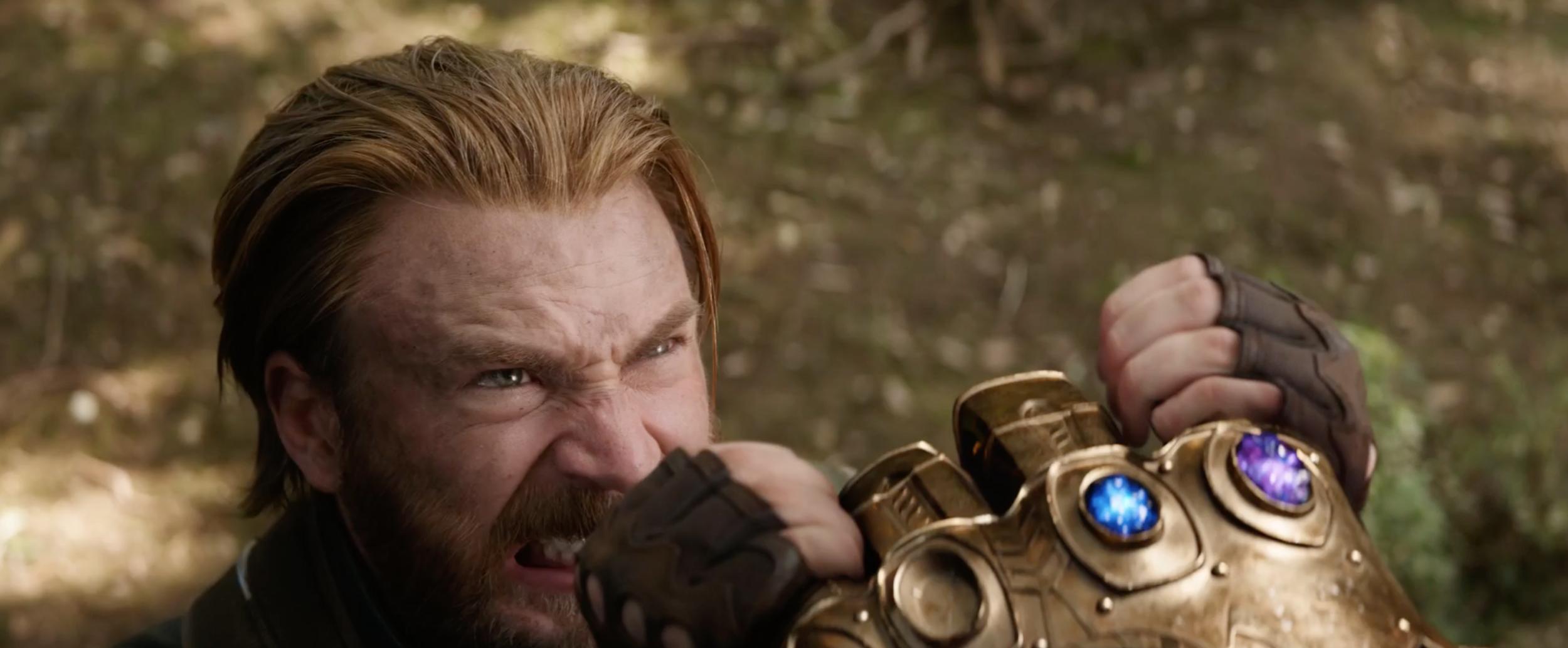 captain america infinity war thanos