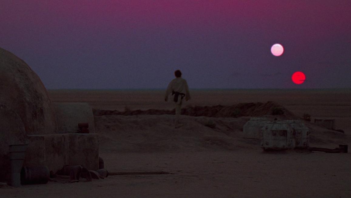 A still from Star Wars (1977)