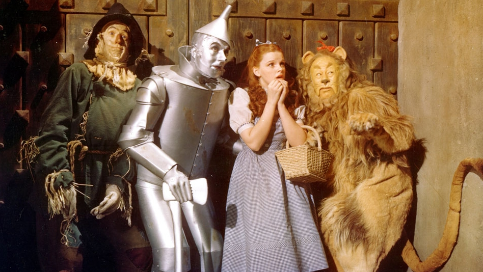 A still from The Wizard of Oz (1939)