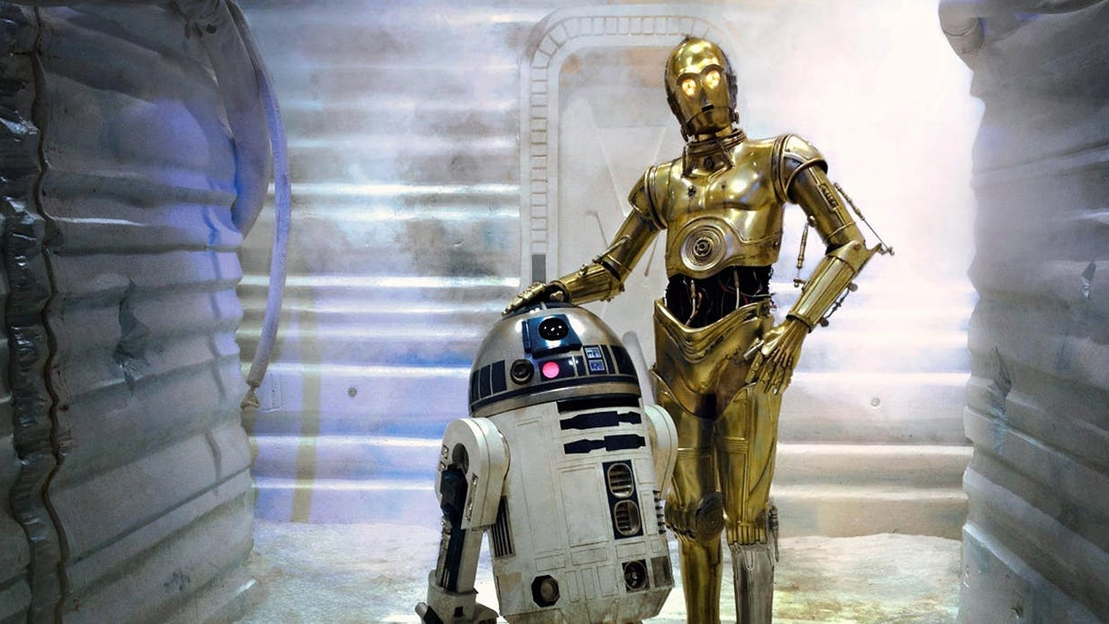 kenny baker, anthony daniels, star wars, the empire strikes back,