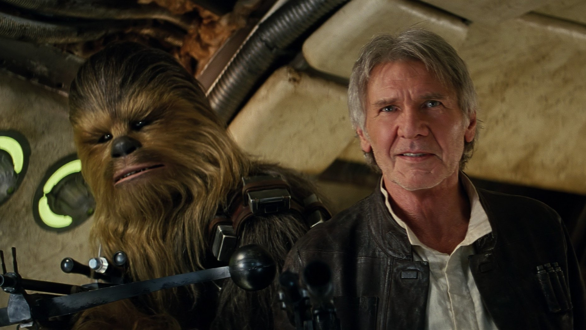 peter mayhew, harrison ford, the force awakens,