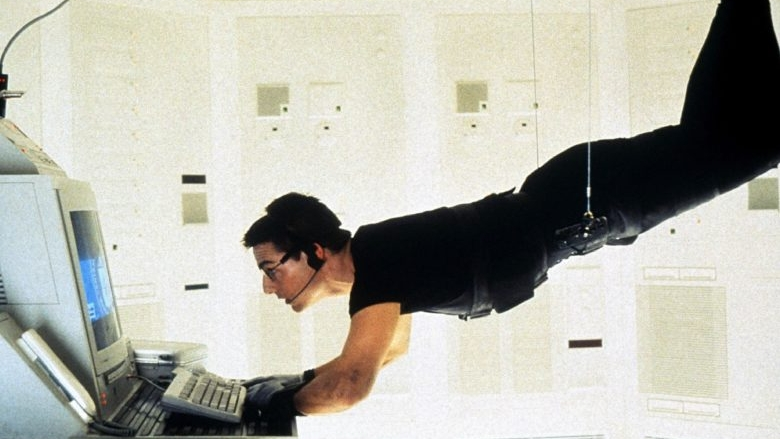 tom cruise, mission impossible, brian de palma, ving rhames, jean reno, jon voight,