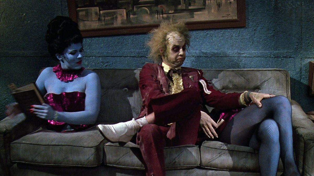 Beetlejuice  directed by Tim Burton in 1988.