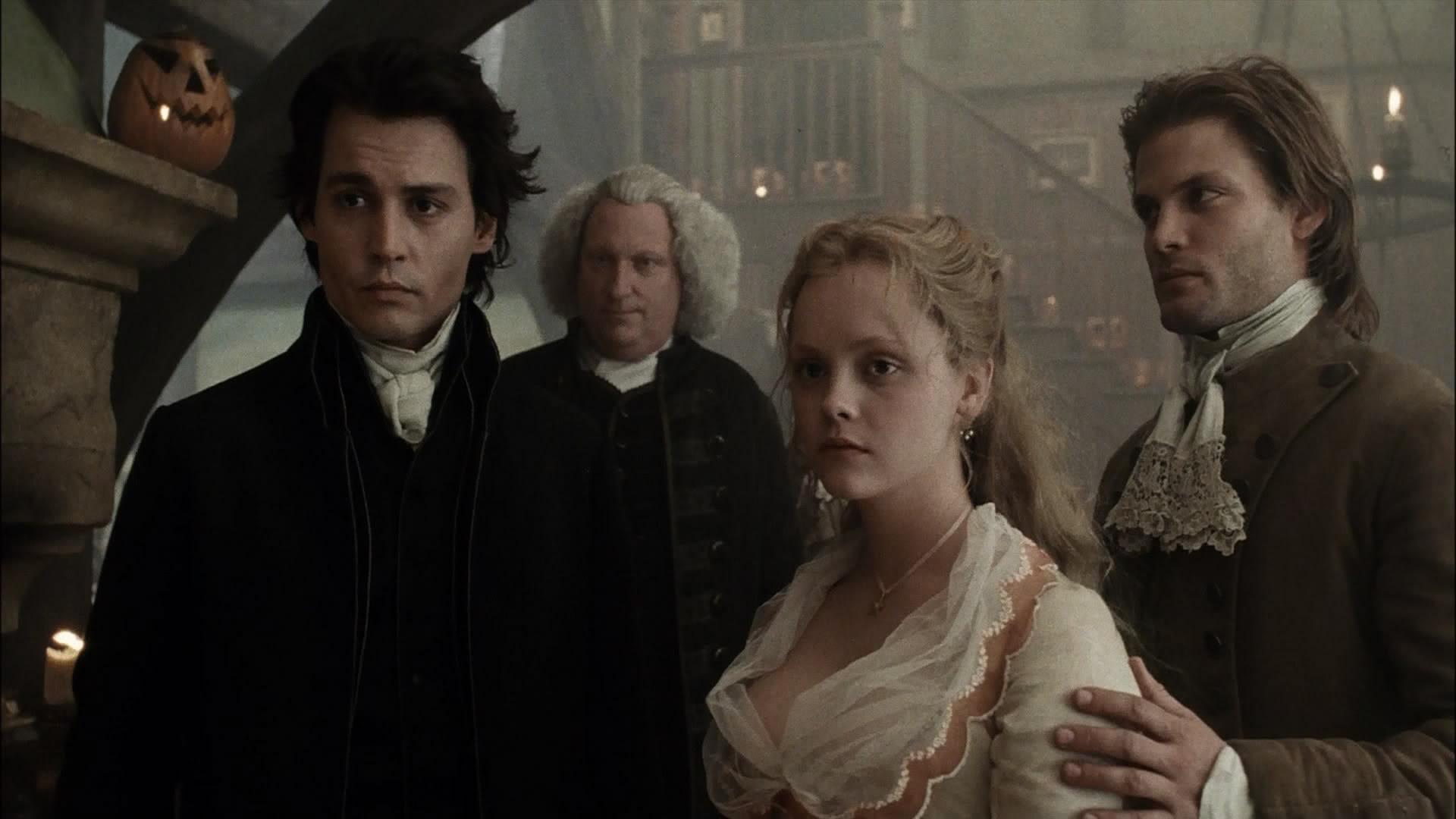 Sleepy Hollow  directed by Tim Burton in 1999.