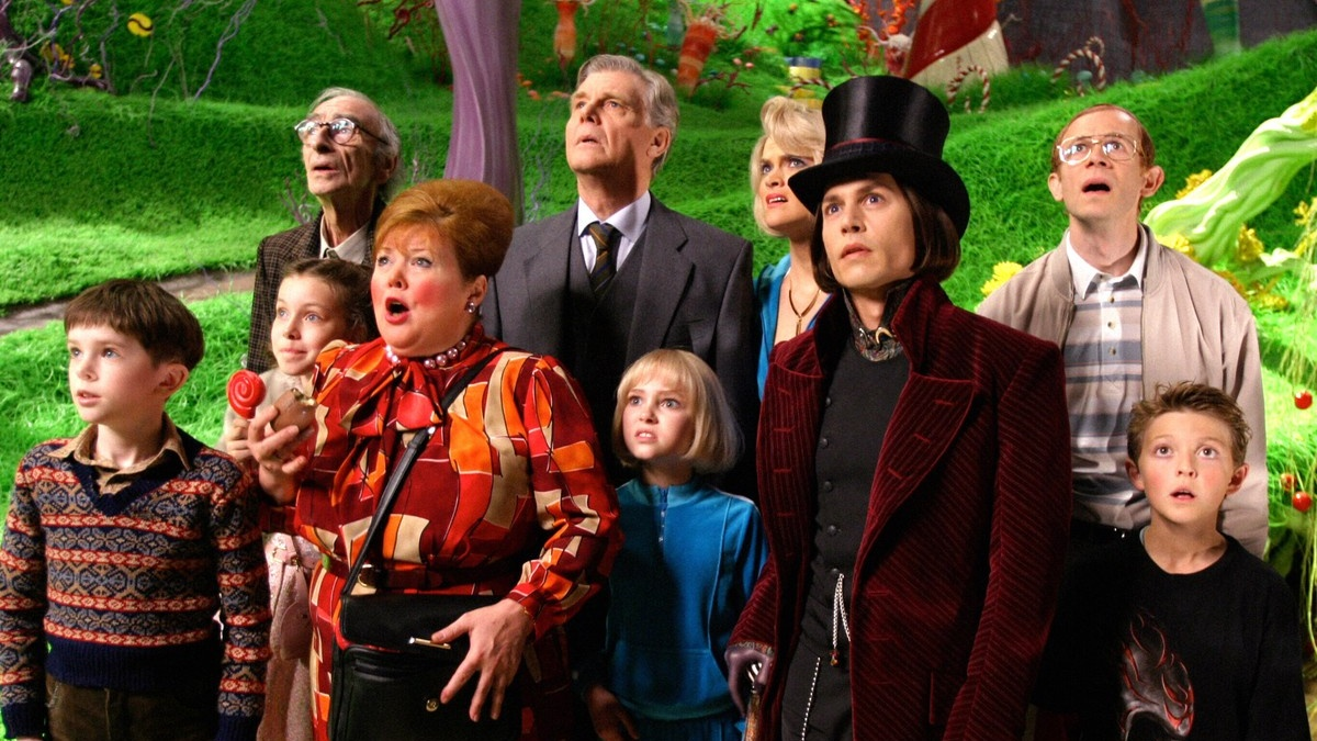 Charlie and the Chocolate Factory  directed by Tim Burton in 2005.