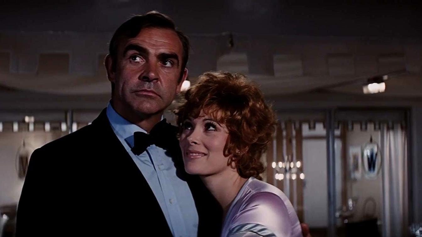 Sean Connery, Jill St. John, Diamonds Are Forever, Jimmy Dean, James Bond, 007,