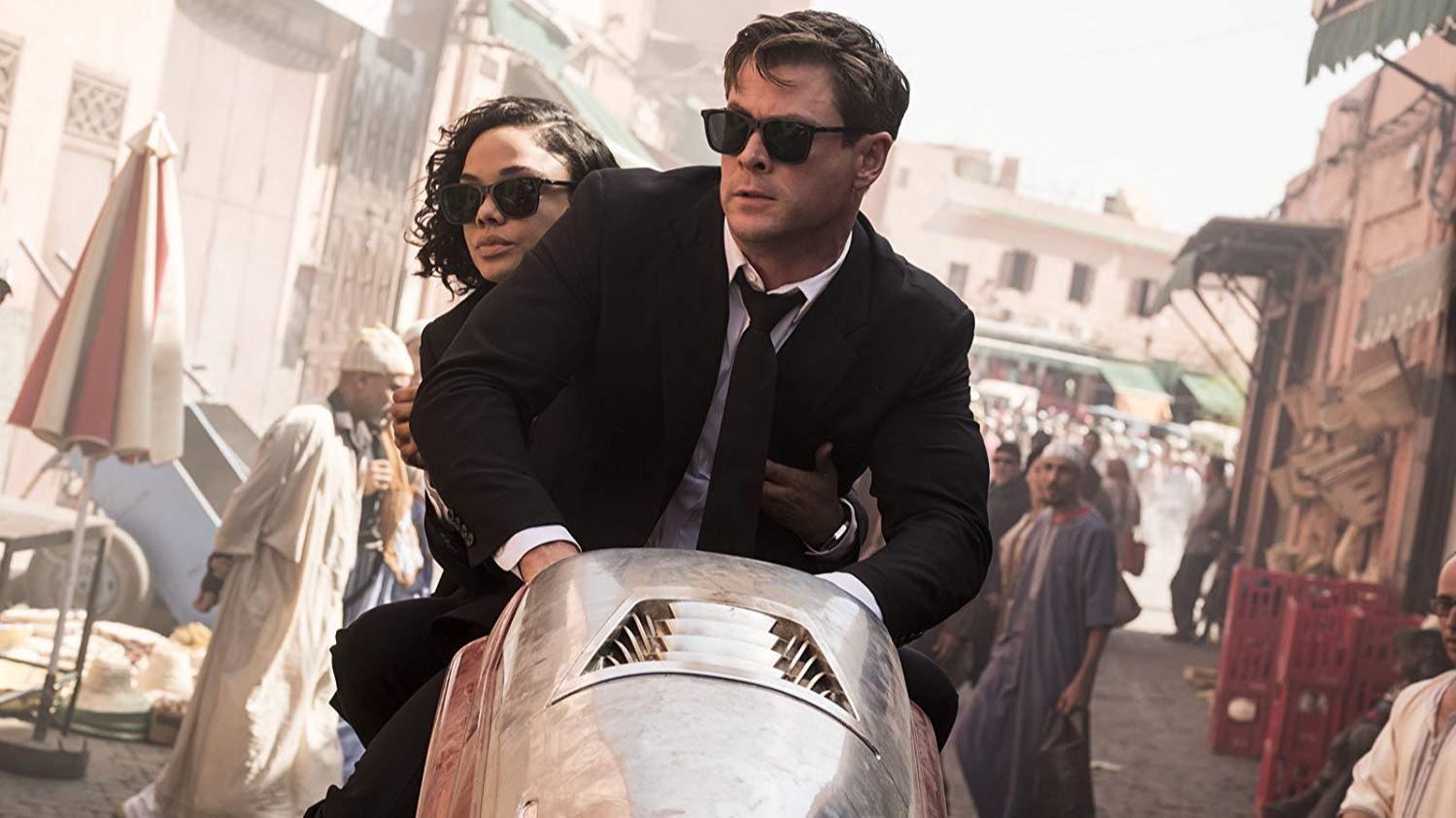 Chris Hemsworth, Tessa Thompson, Men in Black International, Liam Neeson, Emma Thompson, F Gary Gray, Kumail Nanjiani,