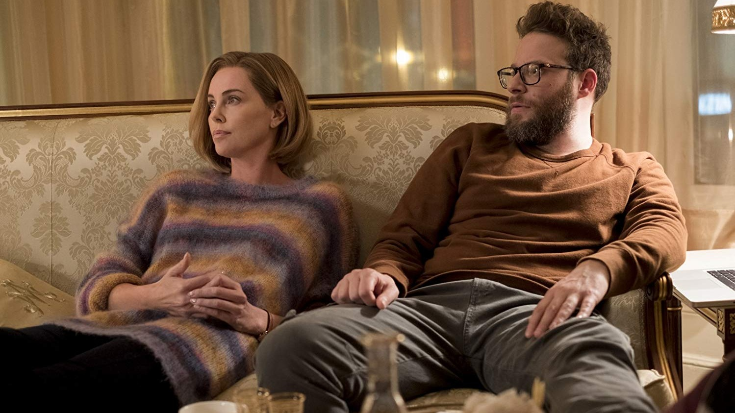long shot, longshot, seth rogen, charlize theron, bob odenkirk, june diane raphael, political comedy, romantic comedies, 2019 in film, best of 2019,