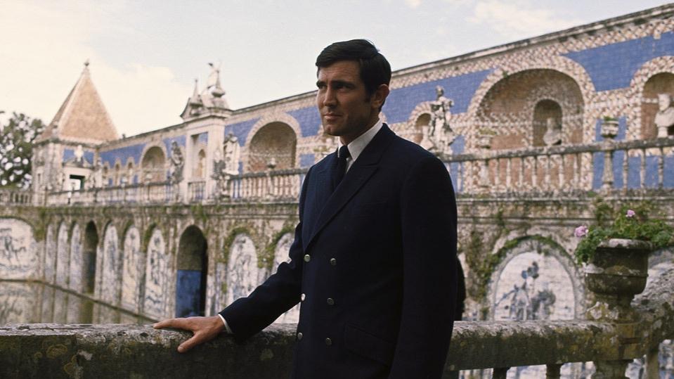 George Lazenby, James Bond, Diana Rigg, Peter R Hunt, Richard Maibuam,