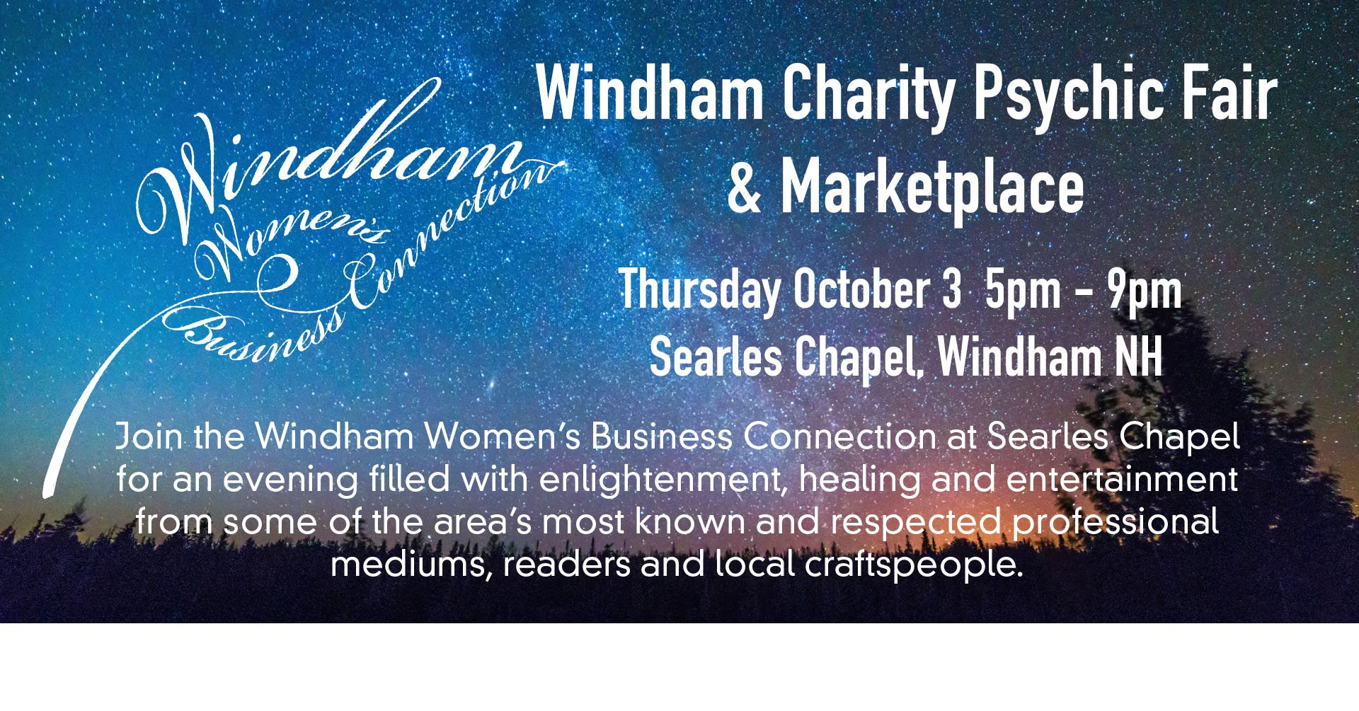 RSVP for the Psychic Fair & Marketplace event on  Facebook