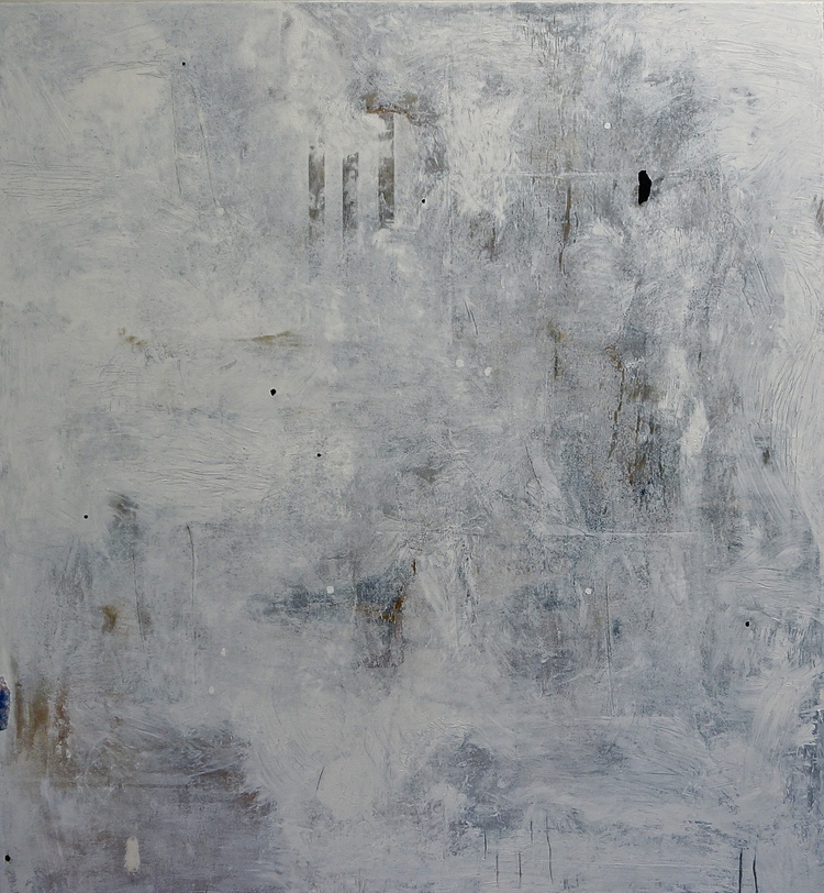 (4) Meet Me in the Silence     acrylic on canvas, 51 x 47 inches