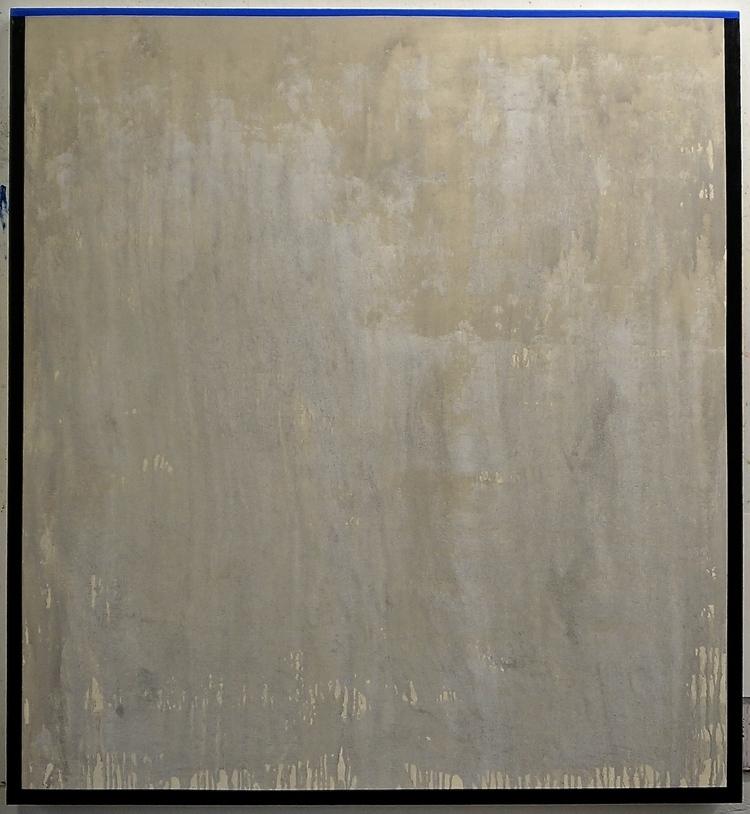 (7) Nothingness/Somethingness     acrylic & mixed media on canvas, 51 x 47 inches
