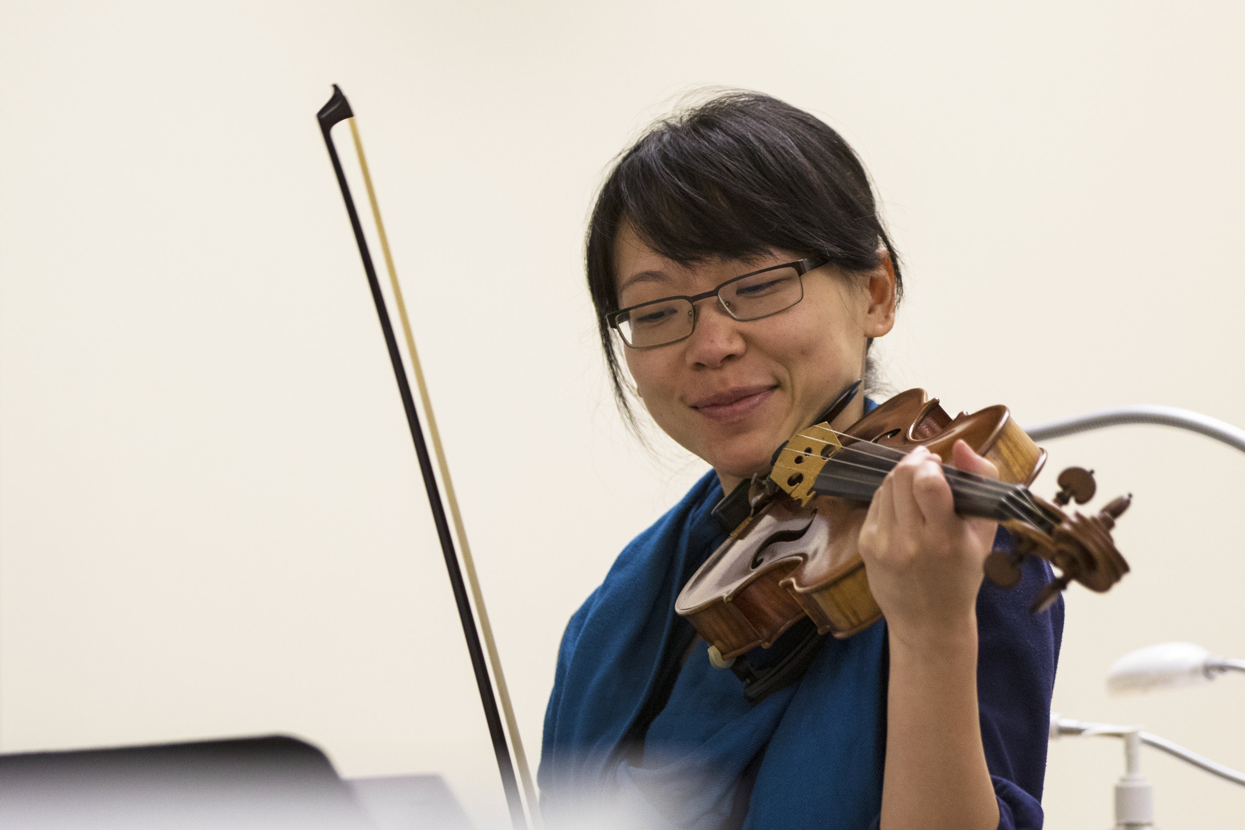 Dr. Jannie Wei, violin, Delgani String Quartet