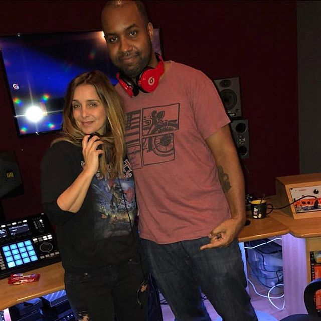 Awesome session today with @louiseredknapp🔥🔥🔥#newmusic #comingsoon 💫