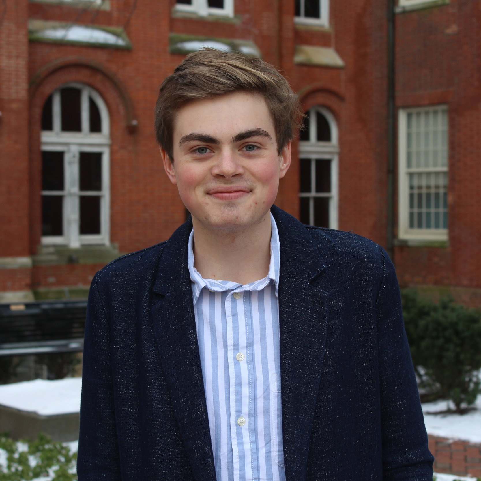 CO–DIRECTOR OF COMMUNITY ENGAGEMENT:  Matt Davis (SFS '22)