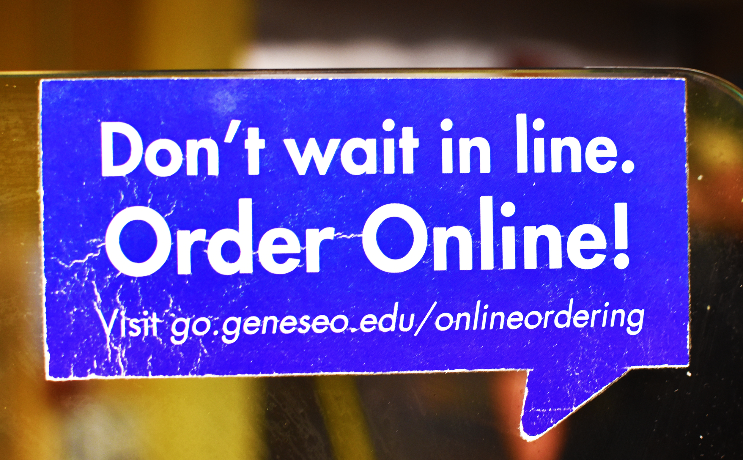 Online ordering was introduced in the spring 2018 semester and went offline during the fall 2018 semester because of an issue with the program's technology. As of Tuesday, online ordering has been back online at certain locations, and will be fully operational by the end of the week (Josie Kwani/assoc. photo editor).