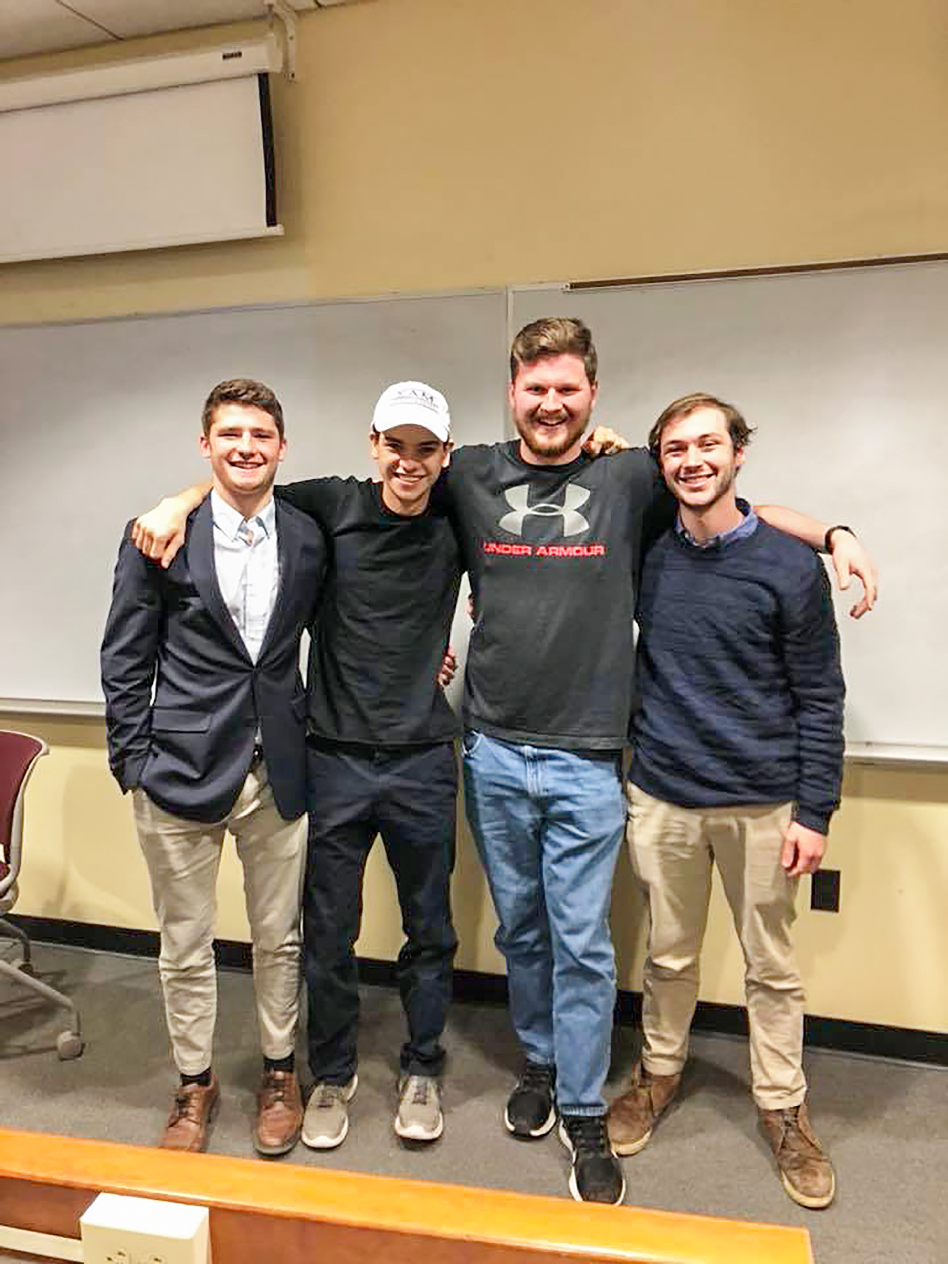 Geneseo's Sigma Alpha Mu chapter is a national fraternity that emphasizes strong alumni relations in order to create life-long connections. Sammy's is also committed to serving the community and to raising awareness for different charitable organizations (Courtesy of Brian Herman).
