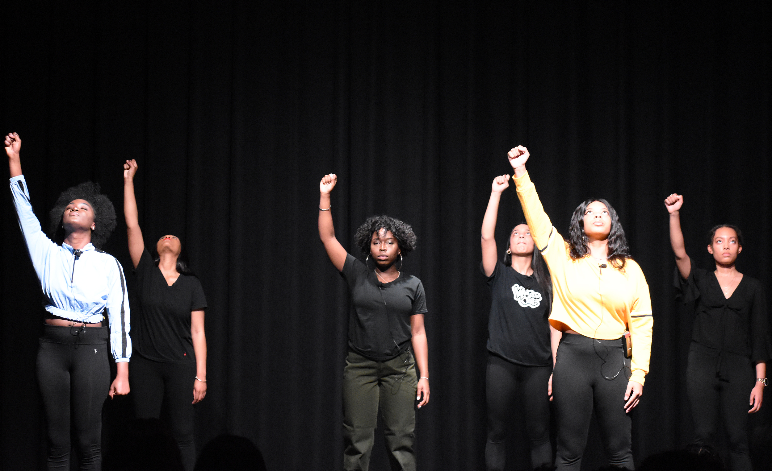 """Black Student Union hosted their annual Soul Food Dinner, """"Black Girl Magic,"""" on Saturday Feb. 23. The event was characterized by traditional soul food, dances and various skits that addressed struggles that black women face in society (Josie Kwan/Assoc. Photo Editor)."""