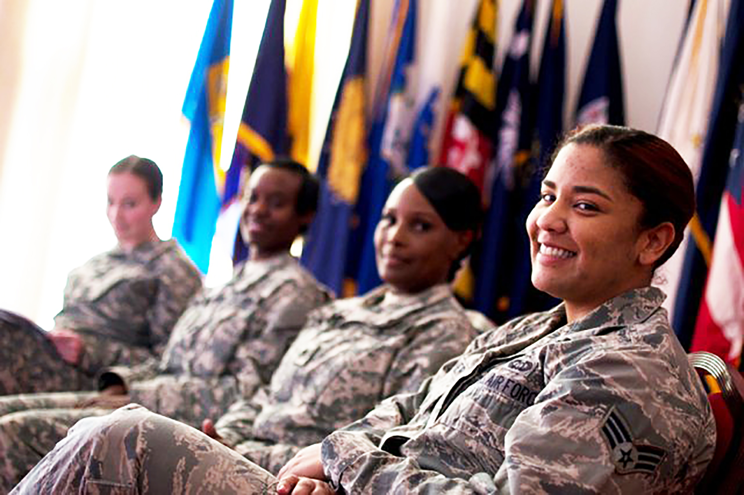 Women in the military (pictured above) have proven they are more than capable of serving in the armed forces. Therefore, the United States draft should extend to everyone, regardless of gender (United States Army/Creative commons).