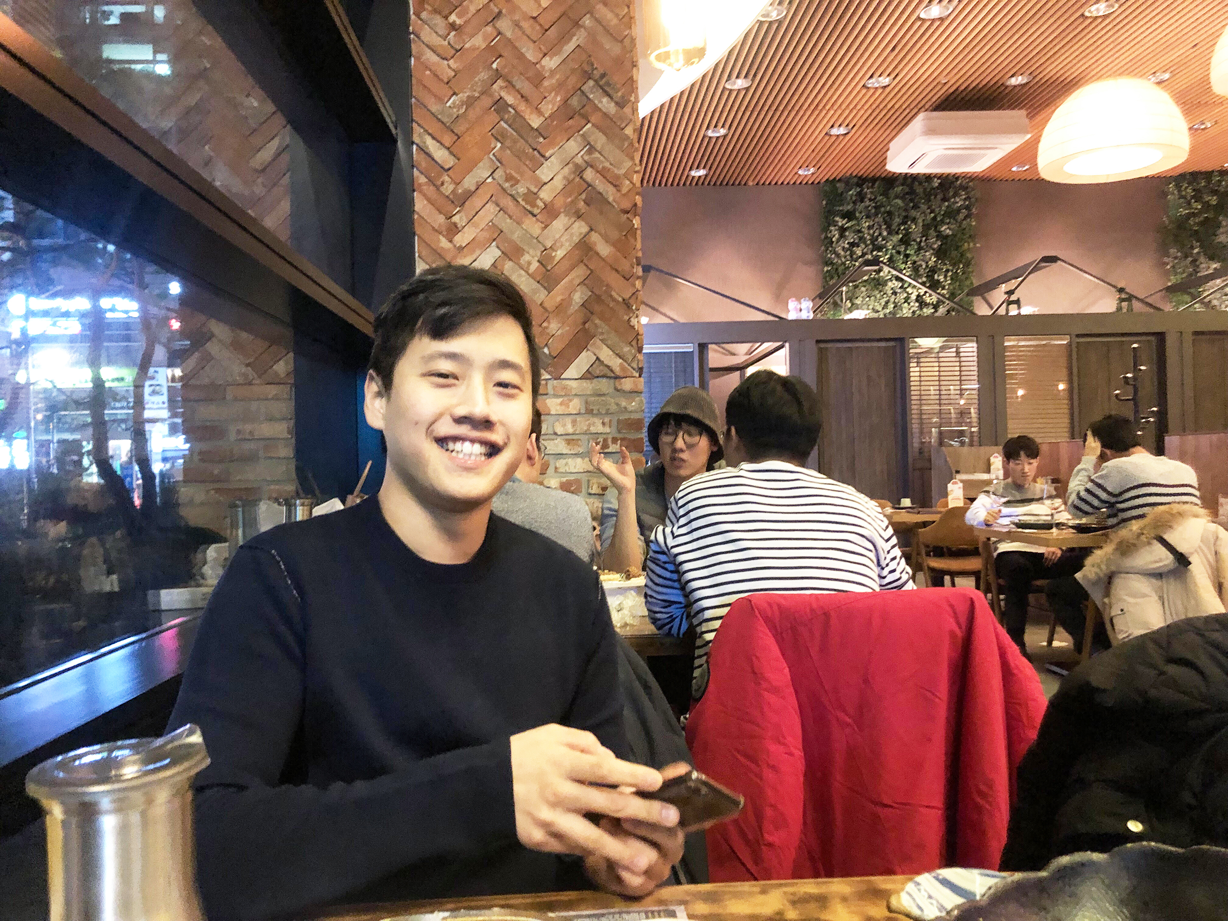 From June 2016 to March 2018, international relations and English double major junior Dong Won Oh served in the South Korean army. Raised in India because of his father's job, Oh attended high school in America and chose Geneseo per recommendation of his counselor (Courtesy of Dong Won Oh).