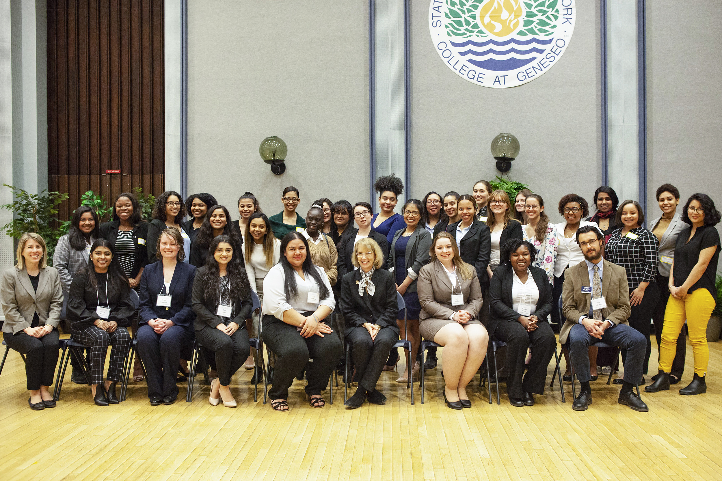 Held by the Women's Leadership Institute, The Women in Leadership Conference Dinner (pictured above) took place on March 6 in the College Union Ballroom. WLI aims to give women valuable leadership and workforce skills in a safe environment (Udeshi Seneviratne/photo editor).