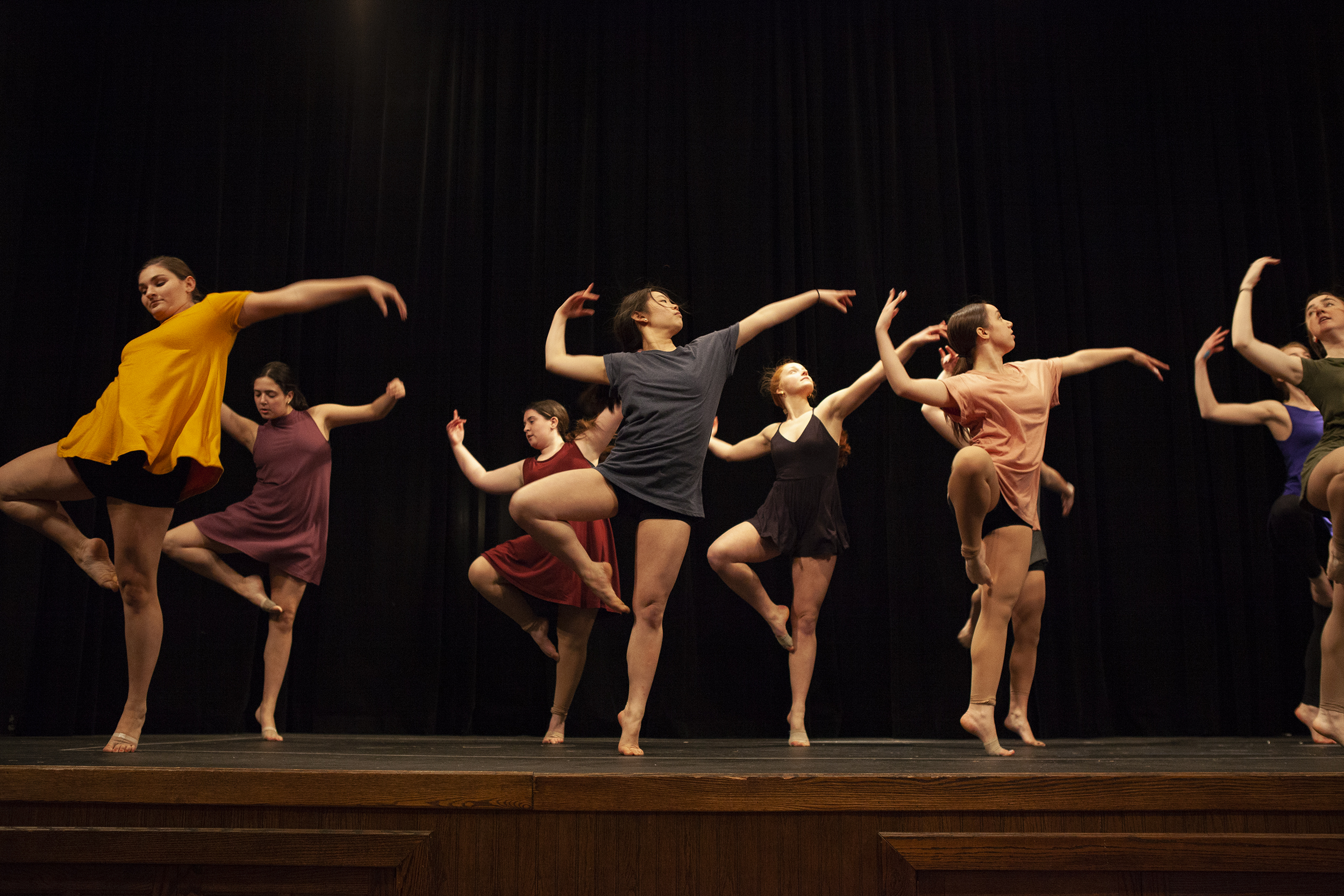 Orchesis performed their Spring 2019 Orchesis Showcase at the Riviera from Saturday March 30 to Sunday March 31. Several small groups choreographed their own dances to perform (Udeshi Seneviratne/photo editor).