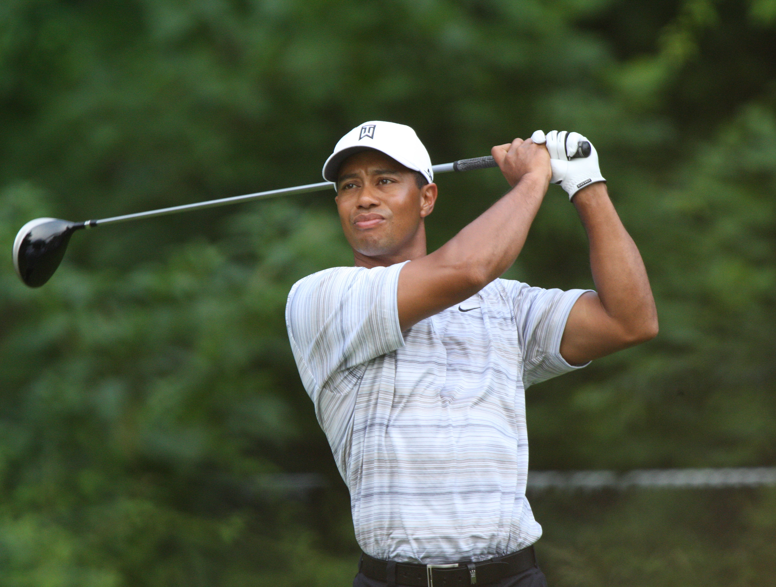 Golfer Tiger Woods (pictured above) follows through on his swing at an event in 2007. Woods won the Masters for the first time in 14 years on Sunday April 14 (courtesy of Creative Commons).