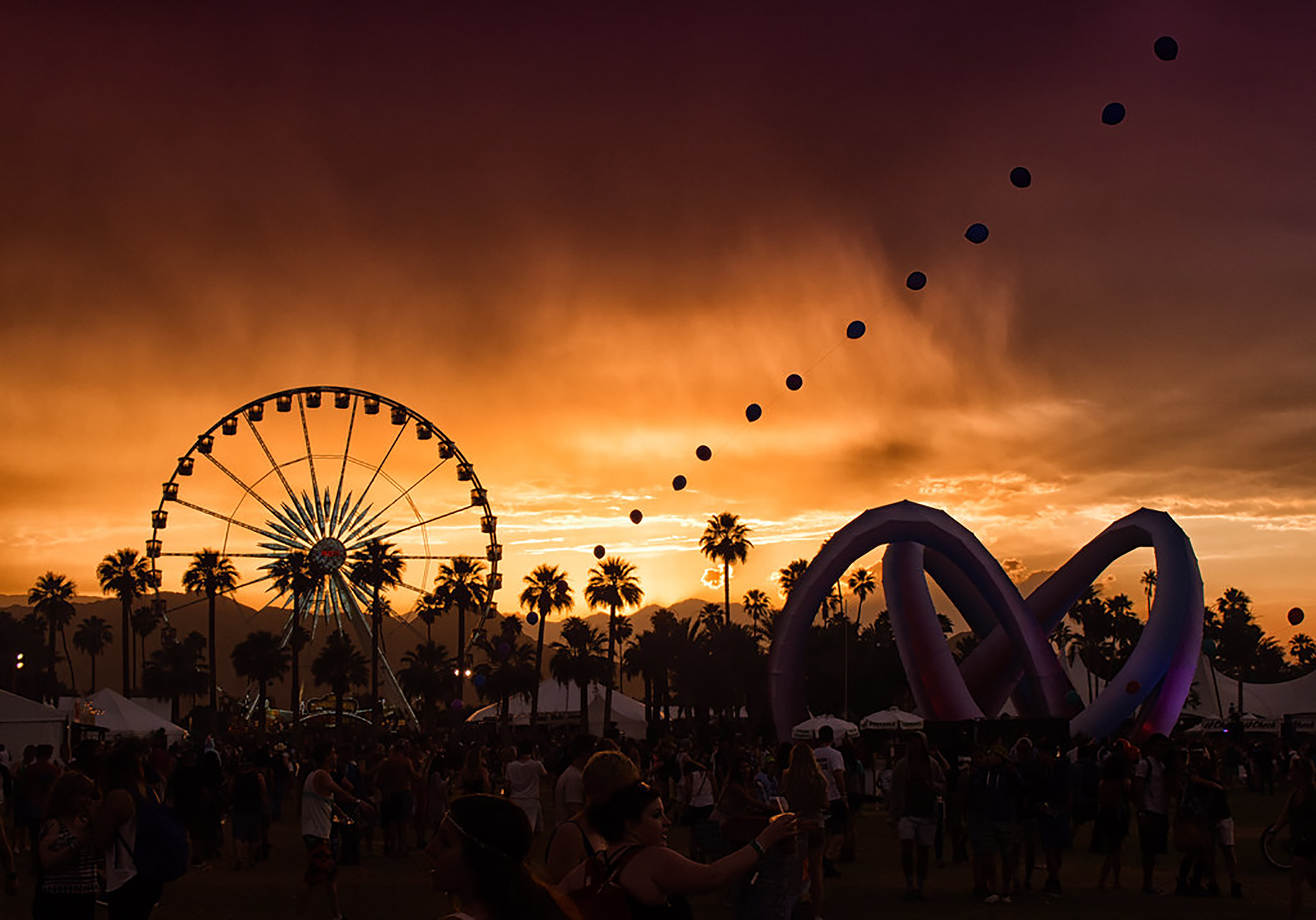 The Coachella Valley Music and Arts Festival (pictured above) preaches freedom and fluidity. Concert-goers should be aware of founder Philip Anschutz's homophobic, anti-LGBTQ+ past (courtesy of Creative Commons).