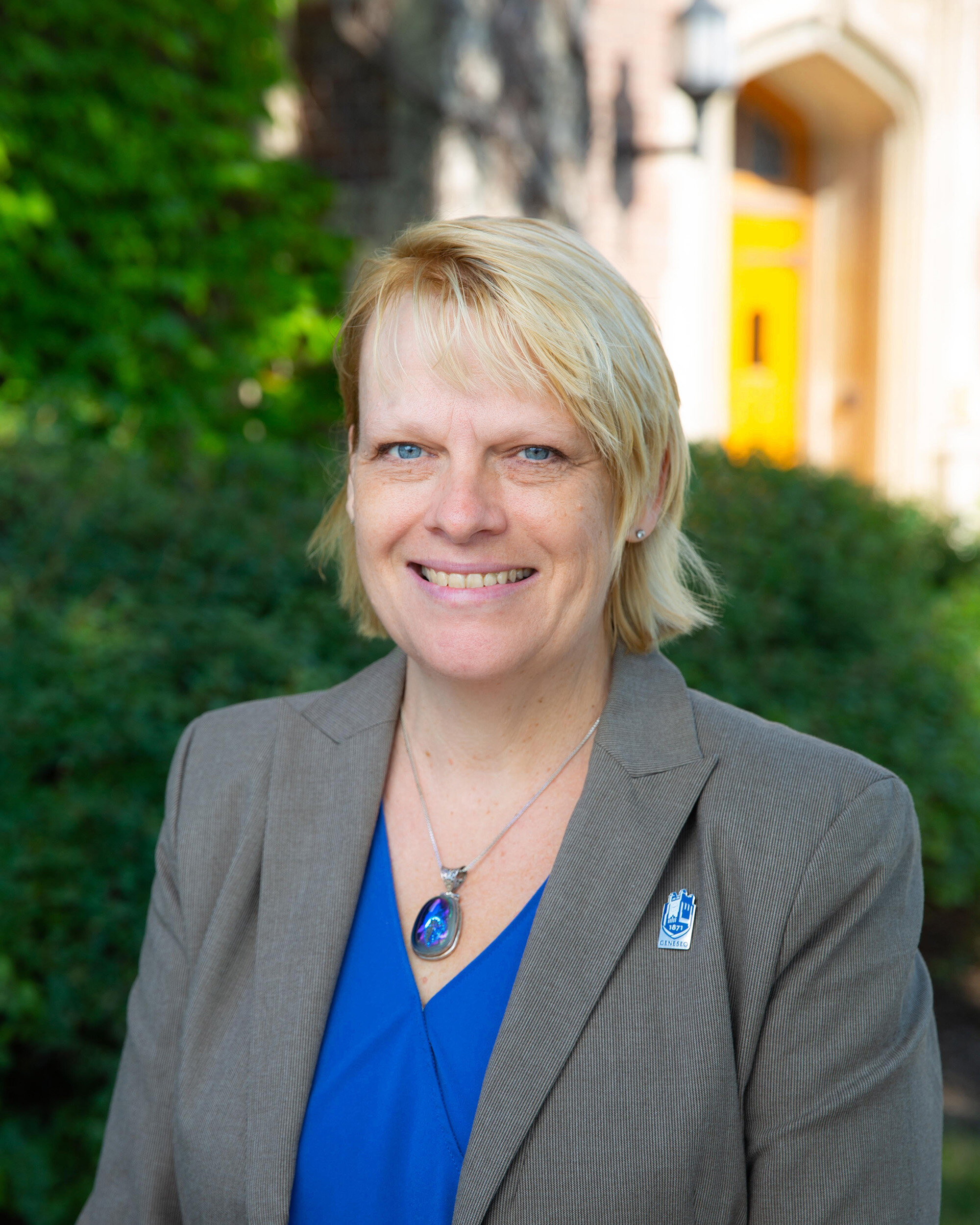 Julie Buehler (pictured above) is the new vice president of Finance and Administration (Olga Shvetsova/Photo Editor).