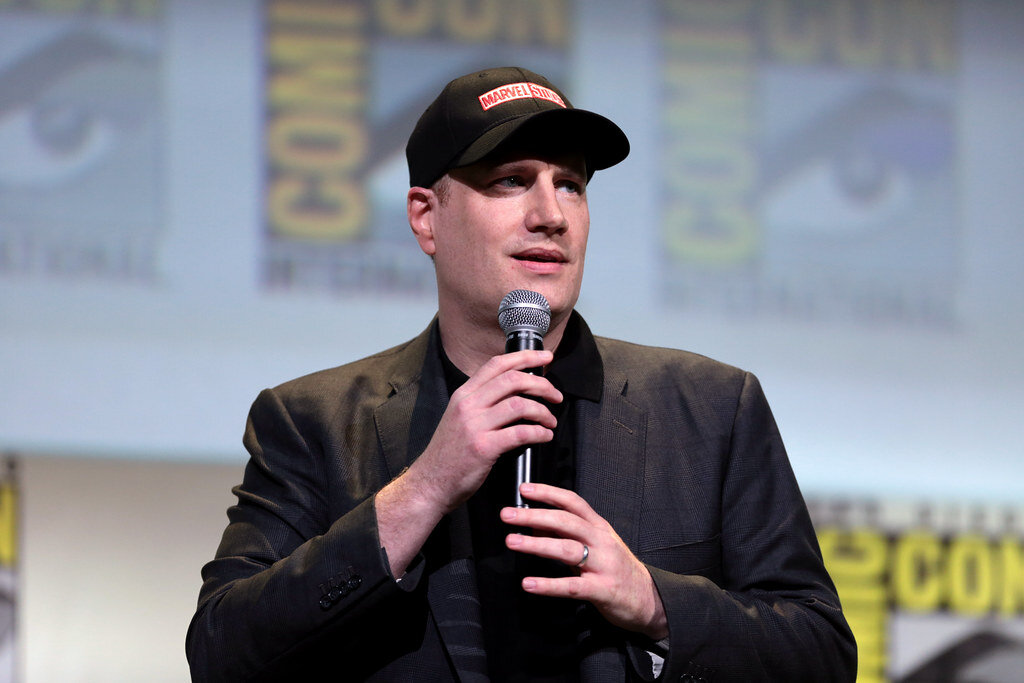 Kevin Feige (pictured above) is a film producer and the president of Marvel Studios. Feige is now working with Kathleen Kennedy—president of Lucas Films—to create the latest Star Wars movie (courtesy of gage skidmore on flickr).