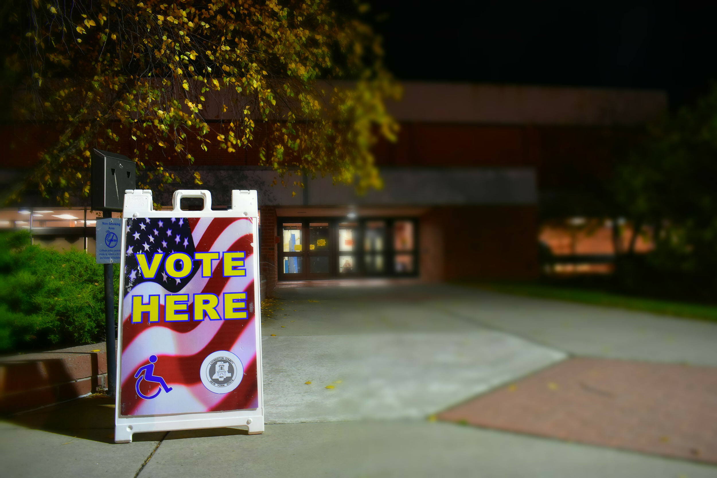 On-campus students went to vote in the Kulh Gymnasium of the Merritt Athletic Center on Nov. 5 (pictured above). This will also be the polling place for the spring 2020 primaries and special election (Xavier Delcid/Photo Editor).