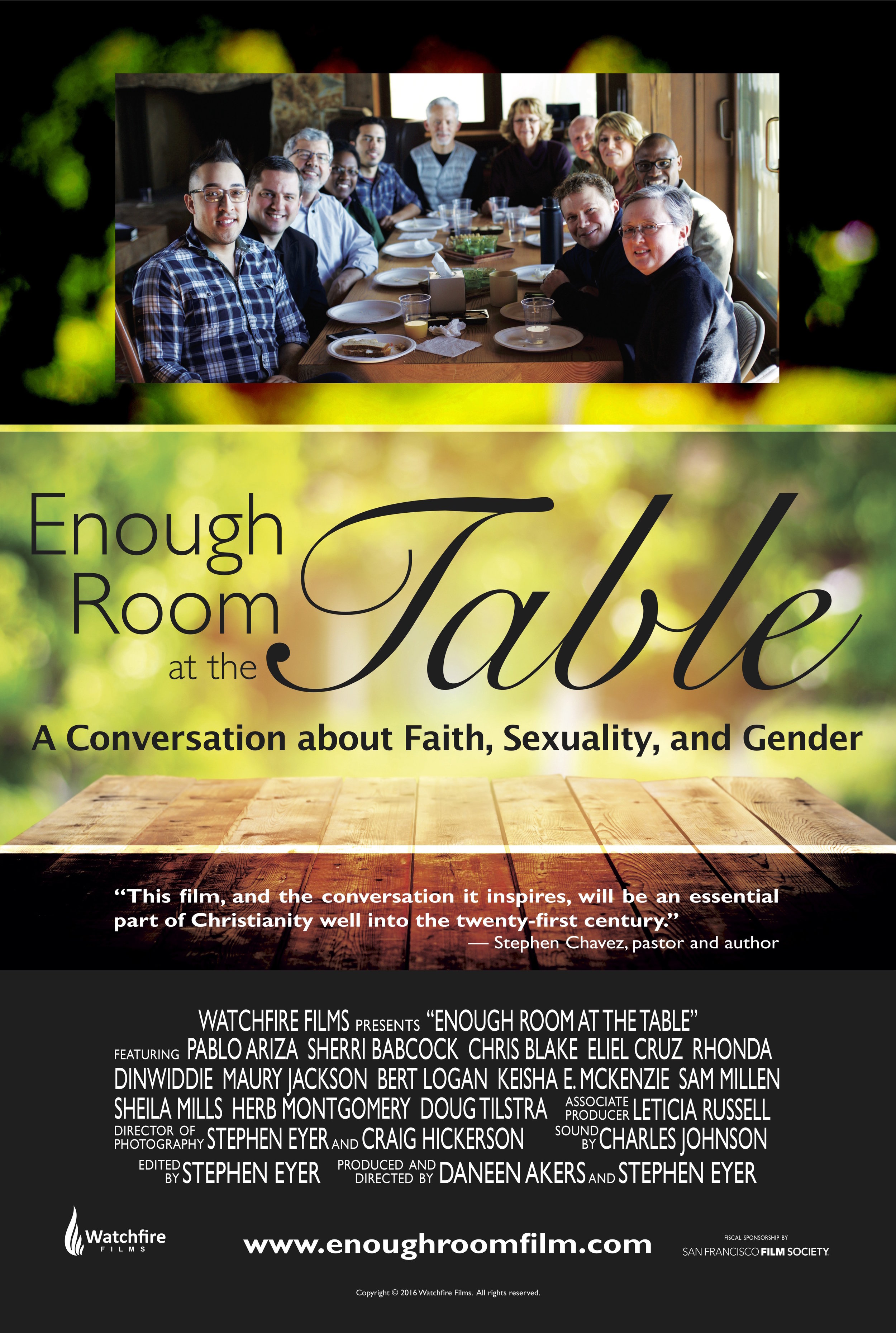 Enough Room at the Table Poster