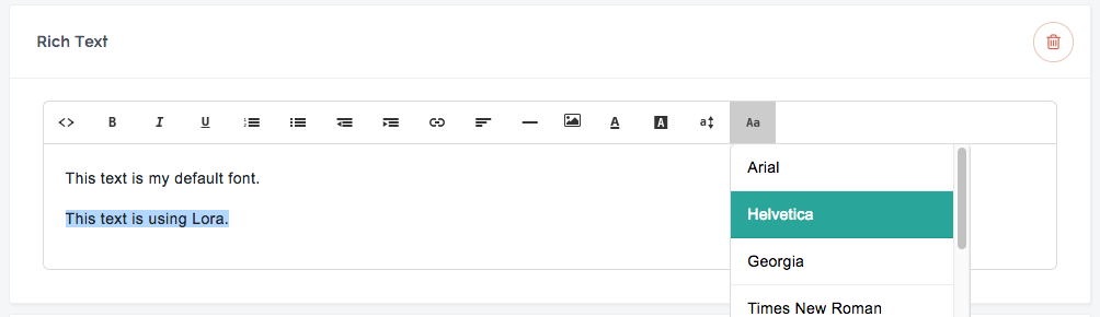 How to use Google Fonts on your Teachable sales pag