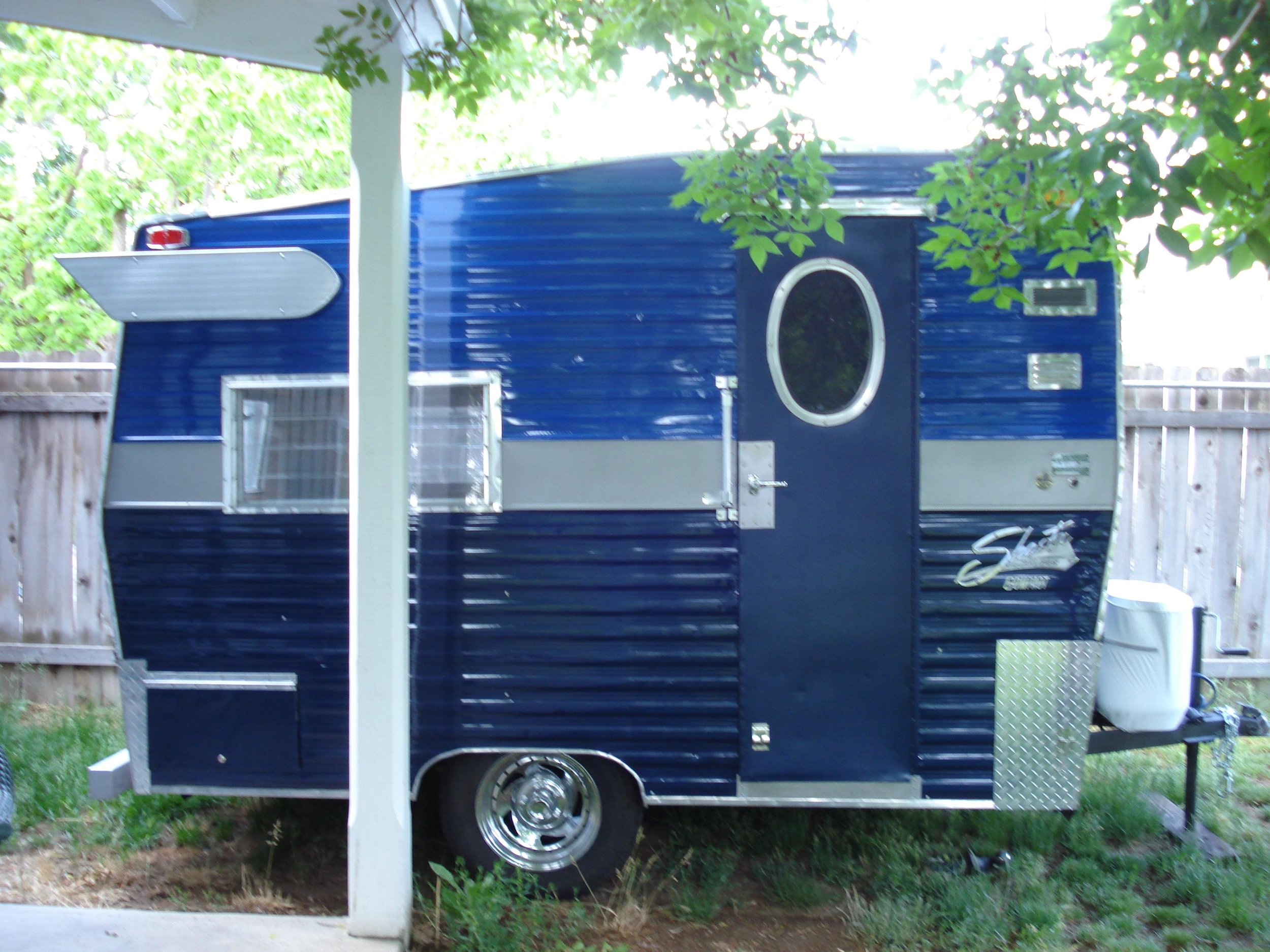 Refrerbbed 1970's Shasta! All the comforts of home, well...almost!