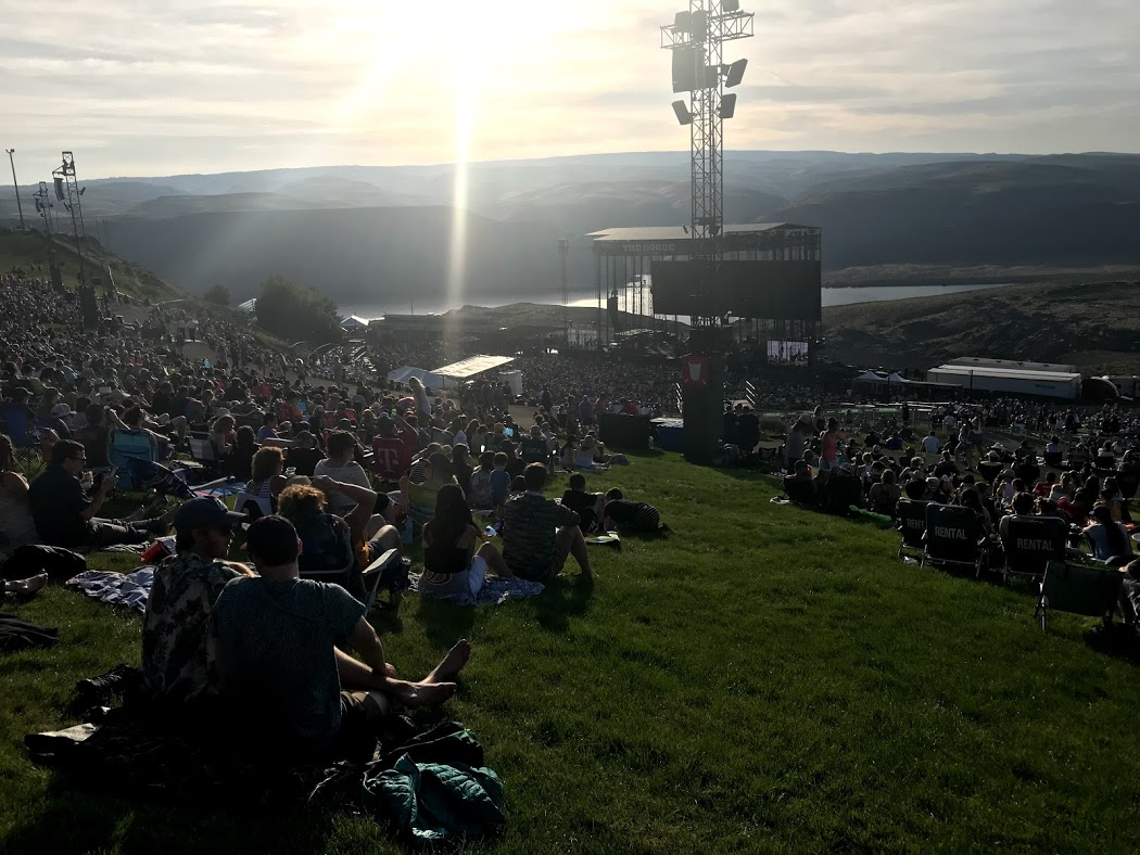 The Gorge Amphitheater in Washington
