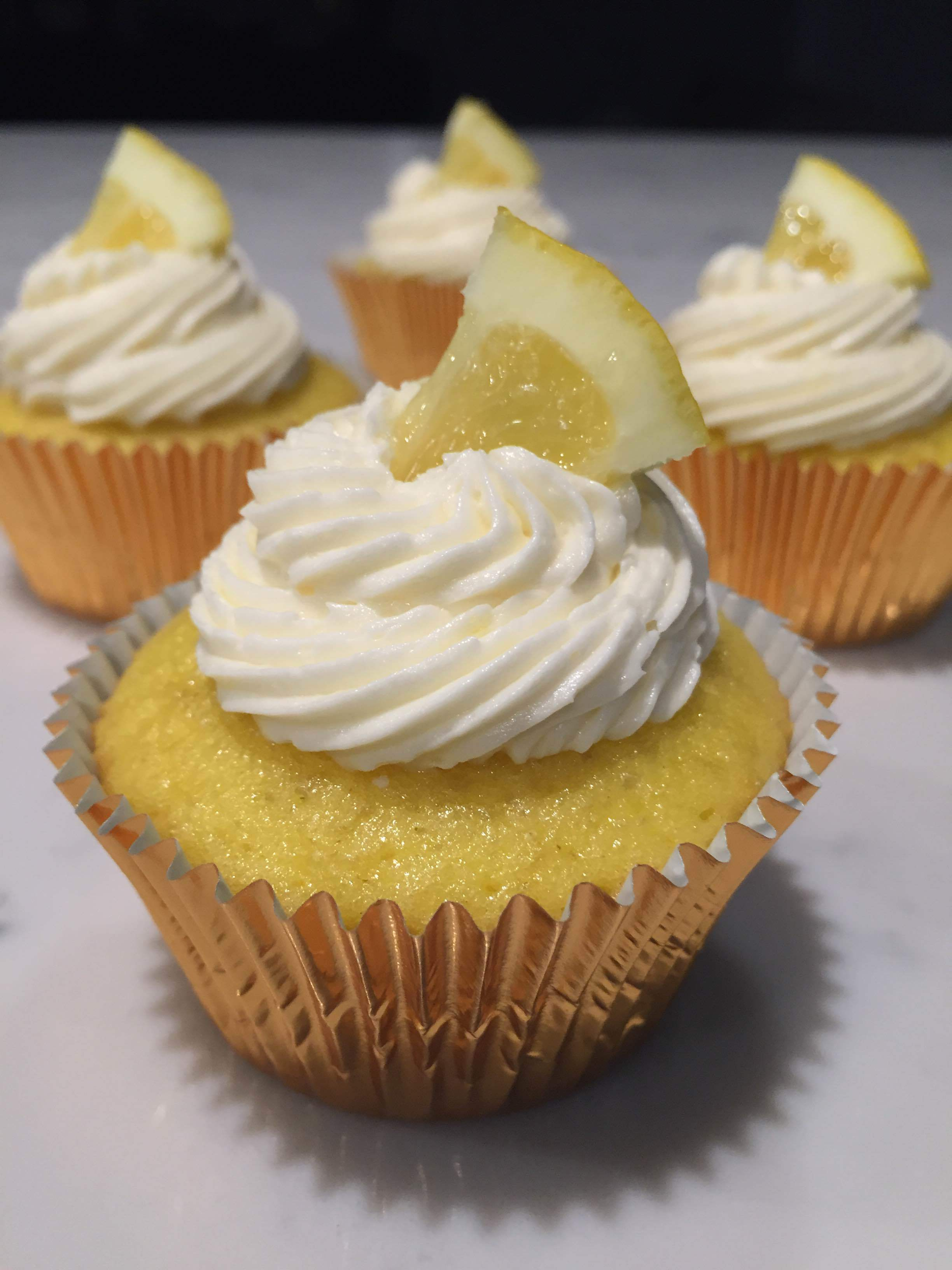 Vanilla Lemon Cupcake