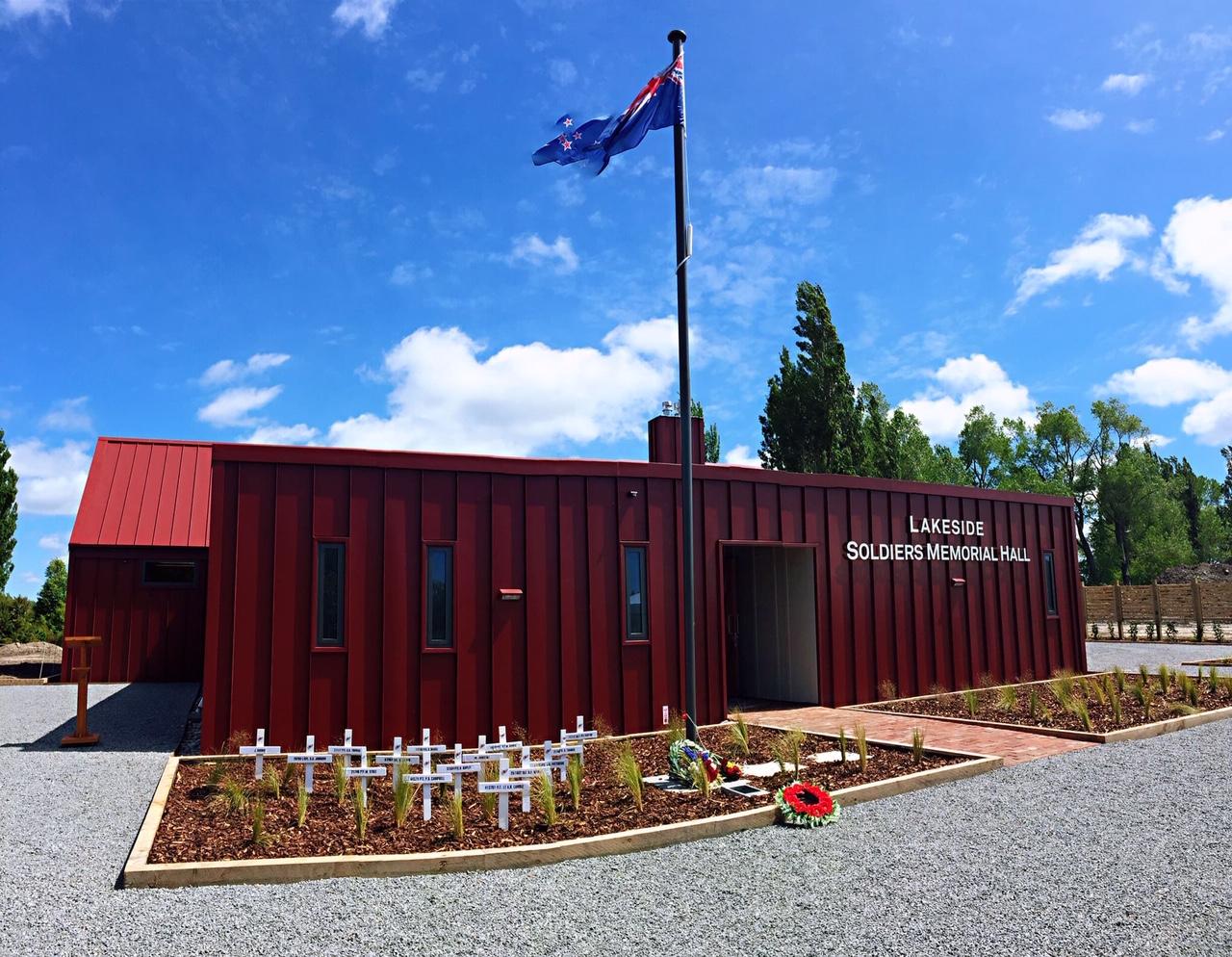 Lakeside Soldiers Memorial Hall