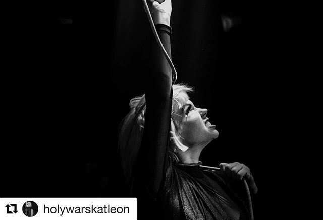 "Shout out to all the badass women of rock. Listen to our friends @holywarsmusic. #Repost @holywarskatleon with @get_repost ・・・ Be you... the weird and uncomfortable you that you are 💀 I'd rather see that skeleton you hide than the mask you made. . . . It took a long time for me to find my voice and self expression. And one rebirth after another, I've been questioned by so many about what I sing about or the type of music I play. Or that I am the ""death singer""... but I don't just sing about death.  I sing about life after death, about living through a tragedy and overcoming the challenges that come with it. About embracing the light as well as the dark. About accepting myself for who I am and loving myself and hating myself. I sing about truth and I don't hide how I feel and I don't put it in a nice little package for those to receive.  I would rather be honest than wear a mask that you designed for me. . . . To all my beautiful women out there who fight everyday for their voice ... I see you and support you. 🖤 #nationalwomensday 📷 @wesmarsala @thepitperspective"
