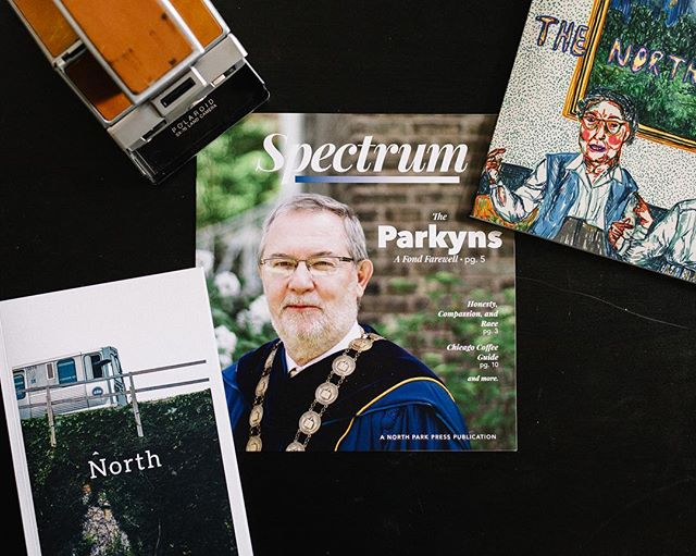 Our new issue it out! Featuring articles about the Parkin's farewell, Compassion & Race, and a guide to Chicago Coffee. Find a copy anywhere on @npuchicago's campus!