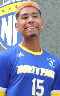 Jason Gonzales. Photo courtesy NPU Men's Soccer.