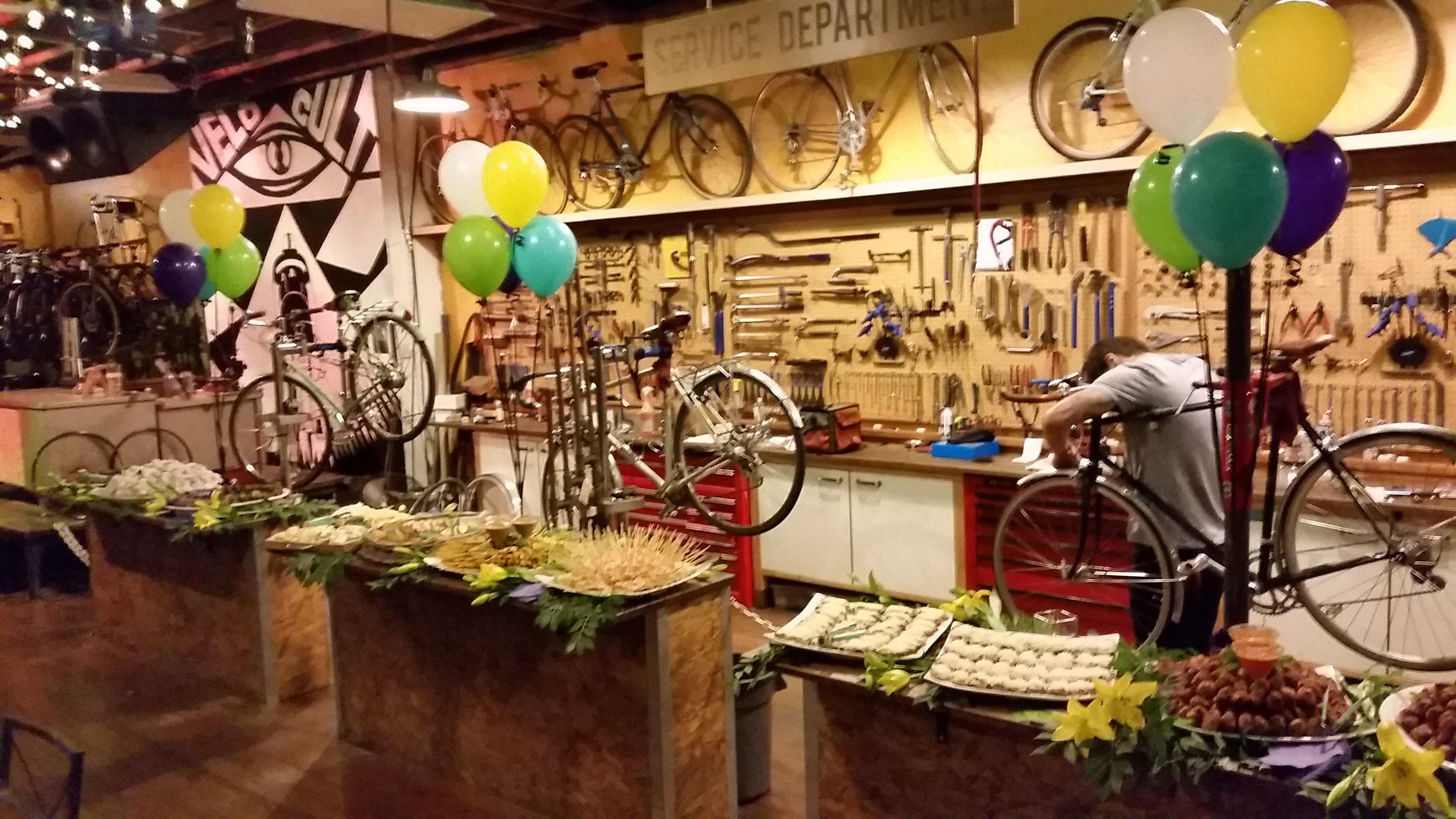 Velo Cult Bike Shop Event - NE PDX