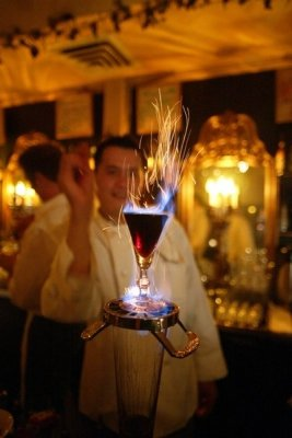 Spanish Coffee by Chef/Owner Pat Jeung