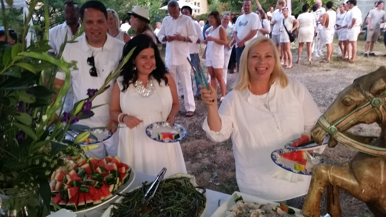 Annual White Party on the Farm - Summer 2017