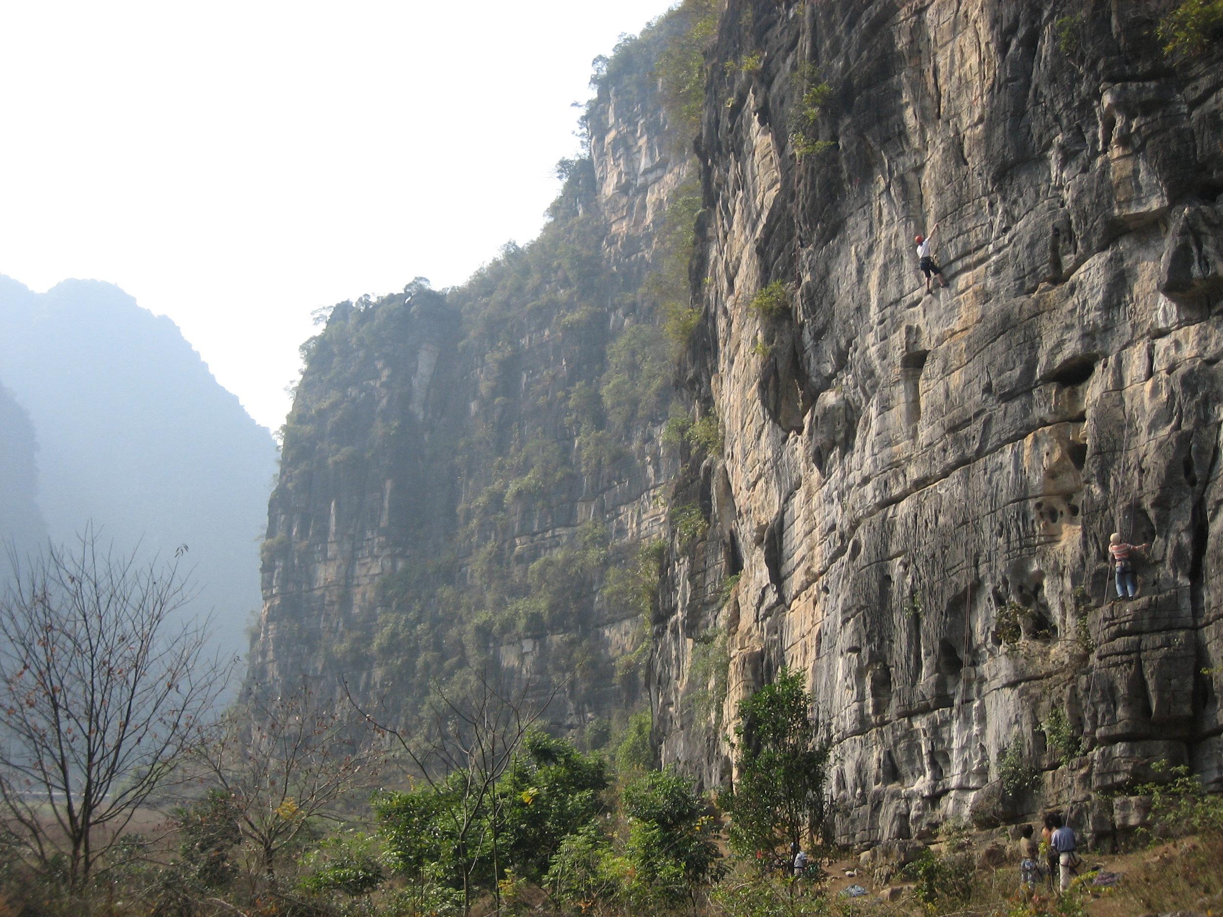 Yangshuo, China,  Wine Bottle Crag