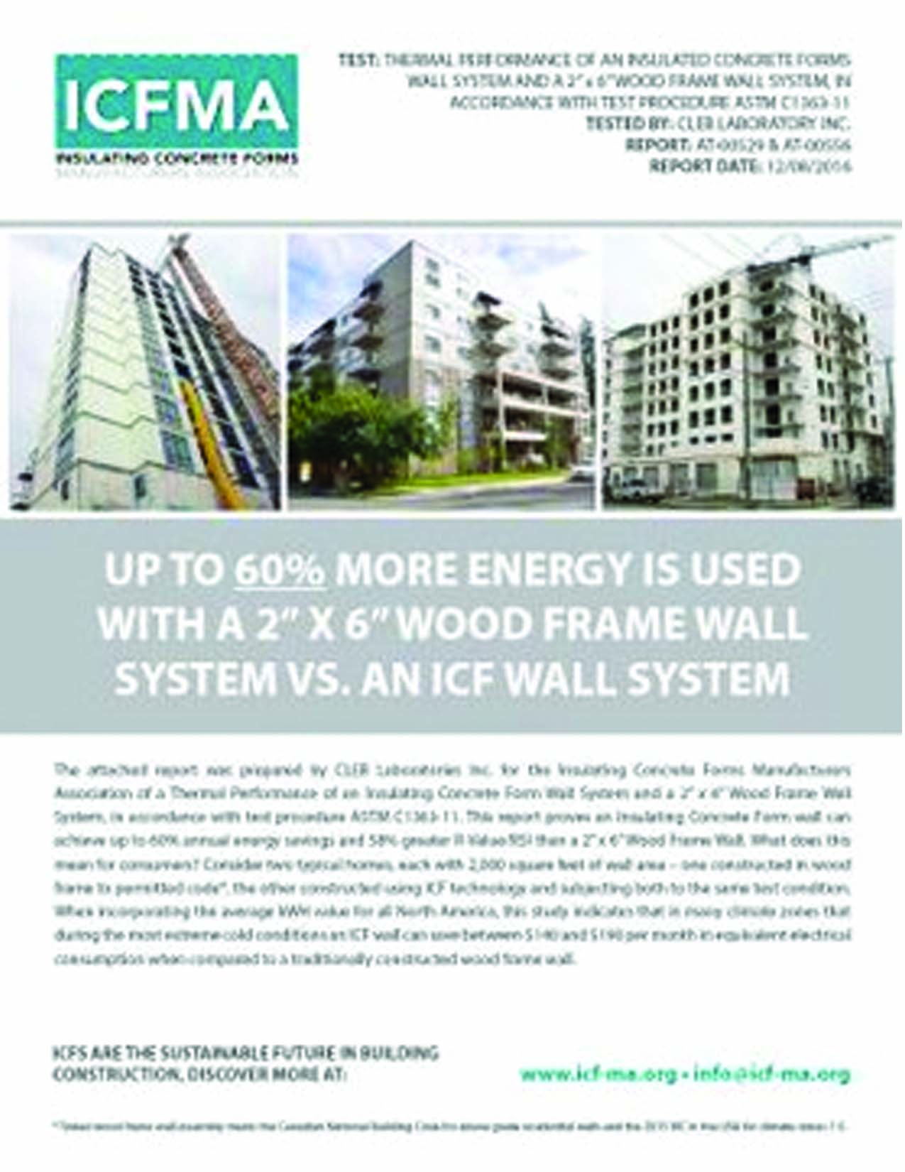 New Study: ICF Outperforms Wood by 60% -