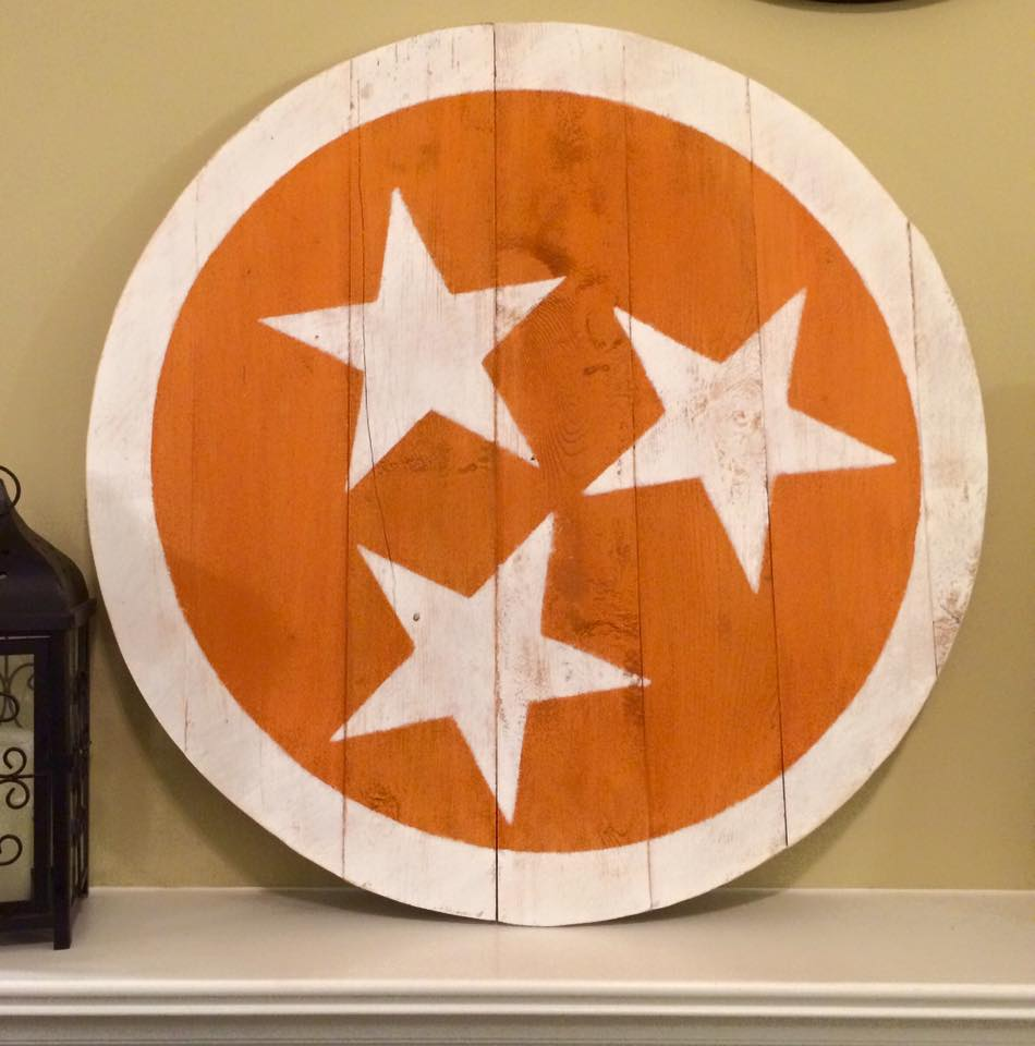 "32"" Tri Star Circle- UT Orange"