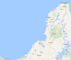 CARIBBEAN COAST OF COLOMBIA