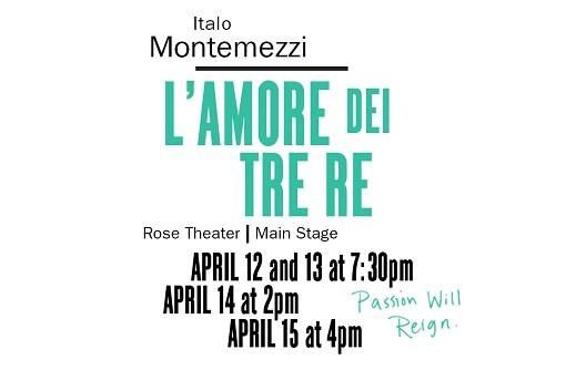 Soprano Ensemble in L'Amore dei Tre Re - NEW YORK CITY OPERAJazz at Lincoln Center's Rose TheaterApril 2018