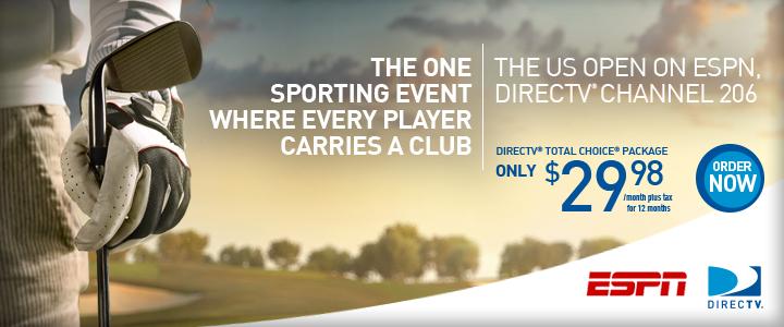 Directv Espn Golf Outdoor Campaign Bill Aitchison